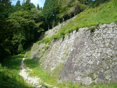 岩村城 城壁