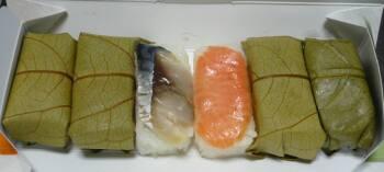 吉野の柿の葉寿司