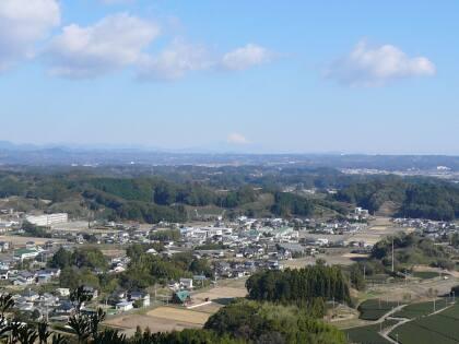 高天神城からの景色