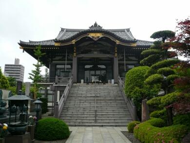 錫杖寺本堂