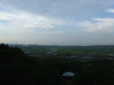 石鎚神社からの景色
