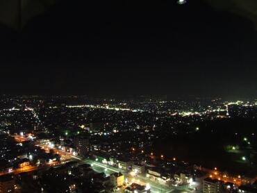 霞城セントラル 夜景