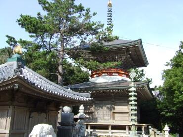 金剛福寺 多宝塔