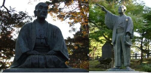 上杉鷹山 銅像