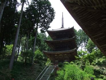 常楽寺三重塔(国宝)
