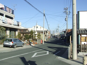 東海道袋井宿町並み.jpg