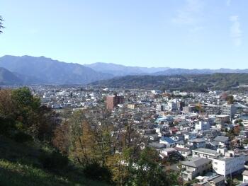 羊山公園から秩父市街を望む.jpg