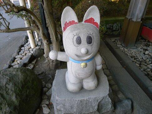 富知六所浅間神社 どらみちゃん.jpg