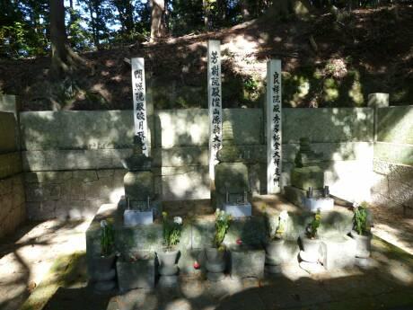 松平郷 高月院 松平家の墓.jpg