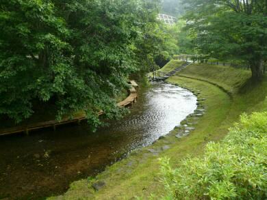 ナイベツ川湧水