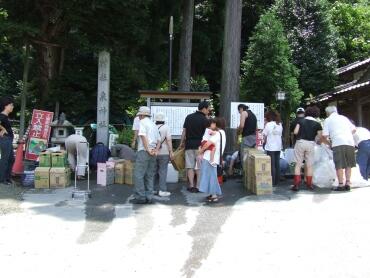 泉神社の湧き水