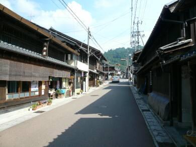 岩村の町並み