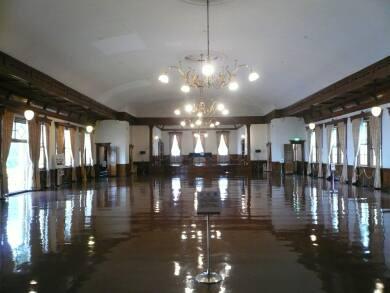 旧函館区公会堂 大広間