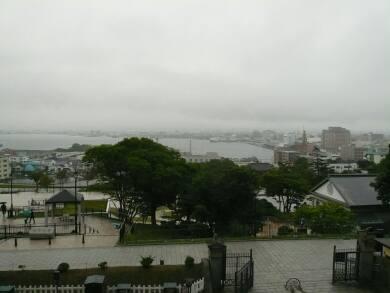 旧函館区公会堂からの風景