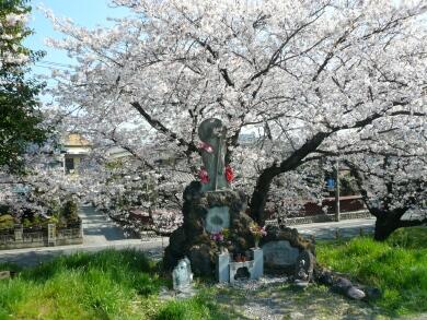 熊谷桜堤お地蔵さん