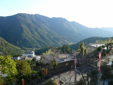 熊野那智大社からの風景