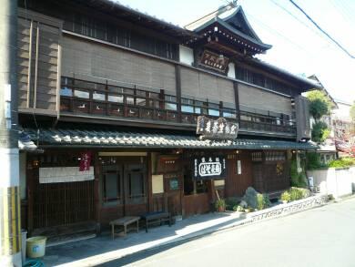 坂本の町並み