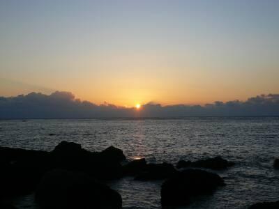 室戸岬の初日の出