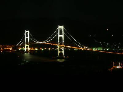 祝津公園 白鳥大橋