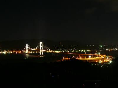 祝津公園 夜景