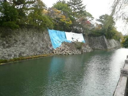 駿府城 地震で崩れた石垣.jpg