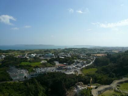 勝連城からの風景