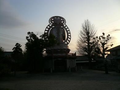 常福寺の大仏_後ろ