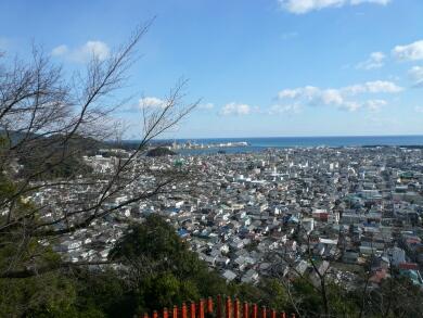 神倉神社からの景色