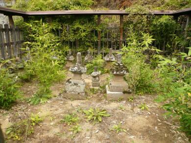 栖雲寺 武田信満の墓