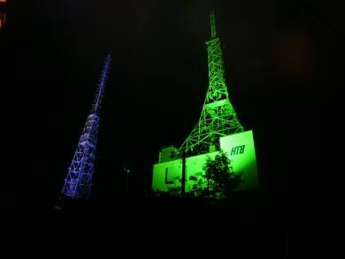 測量山 TV塔