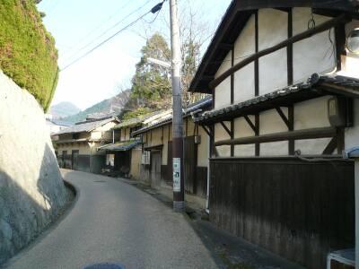 竹内街道(大阪側)