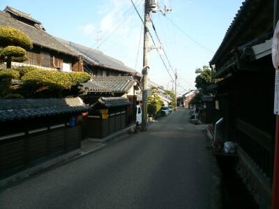 竹内街道(奈良側)