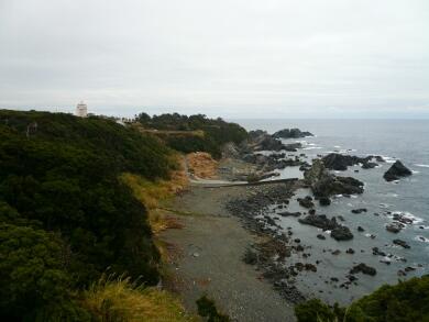潮岬の風景