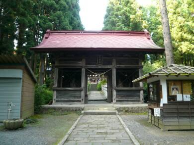 天台寺山門