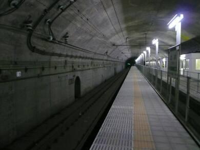 土合駅 ホーム