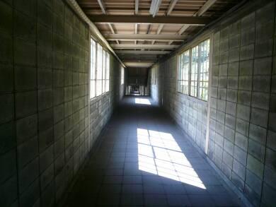 土合駅 廊下