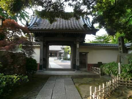 東海道神奈川宿 本覚寺 山門.jpg