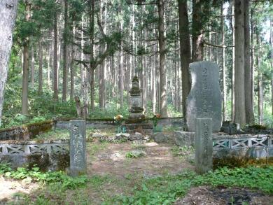 補陀寺_藤原藤房の墓