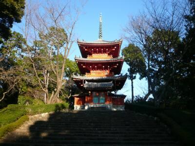 方広寺 三重塔