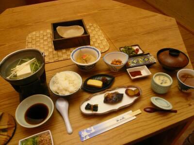 雄山荘 朝食
