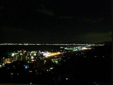 雄山荘 夜景