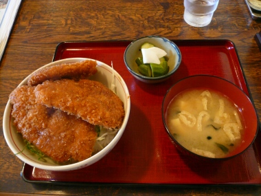 馬車道 ソースカツ丼