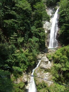 原不動の滝 日本の滝百選