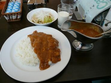 横須賀海軍カレー大盛り