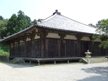 薬師堂(国指定重要文化財)