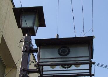 柏原の街灯