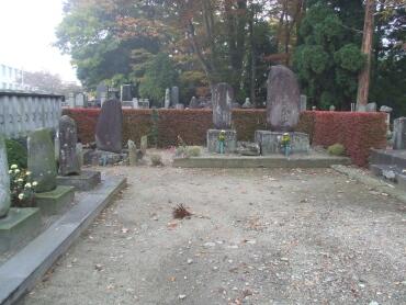最上三代の墓