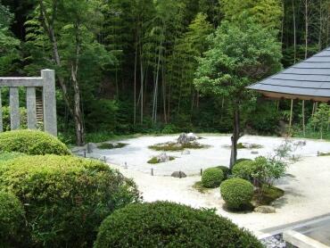 妙感寺 庭園