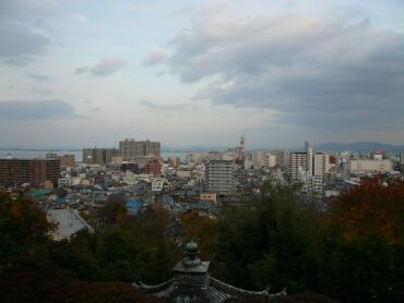 園城寺からの風景