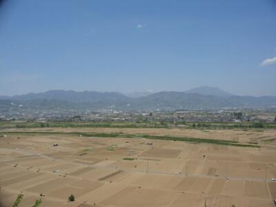 妻女山からの眺望